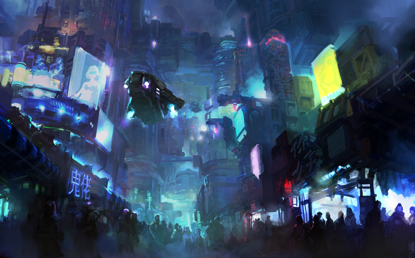 cyberpunk_city_by_onestepart-d6ietk3